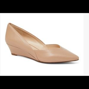 Nude Eliora Leather Wedge - brand new NEVER WORN